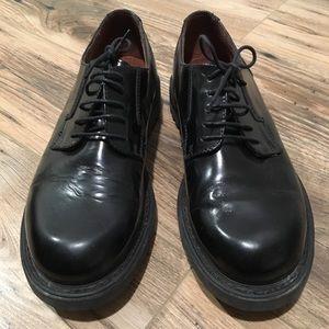 Kenneth Cole Men's Black Leather Dress Shoes - 9.5